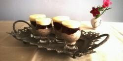 Meggyes-csokis-joghurtos pohár