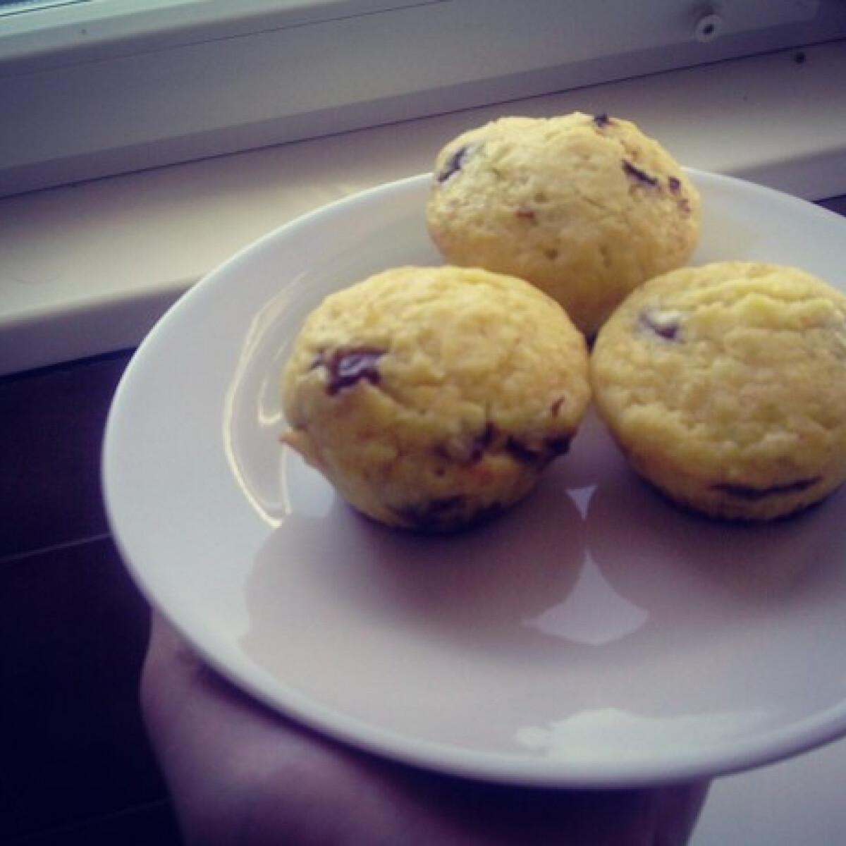 Csokis-narancsos muffin Zsanitól