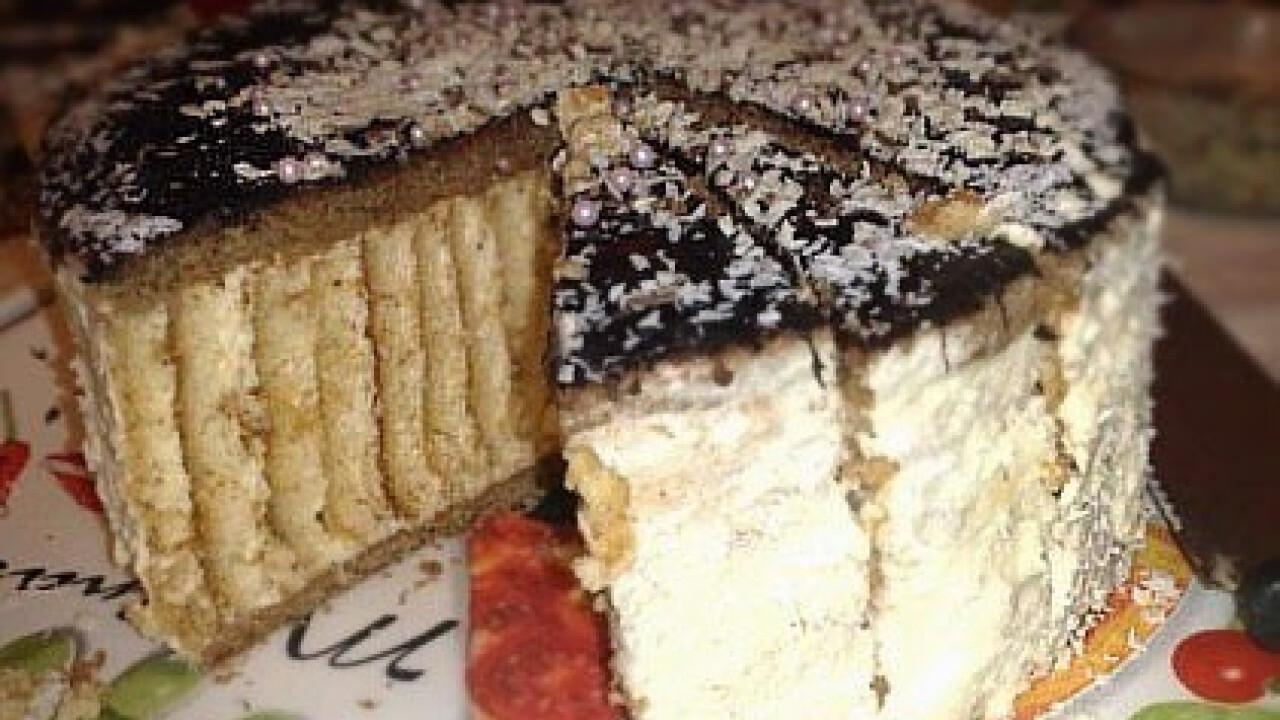 Kókuszkrém-torta