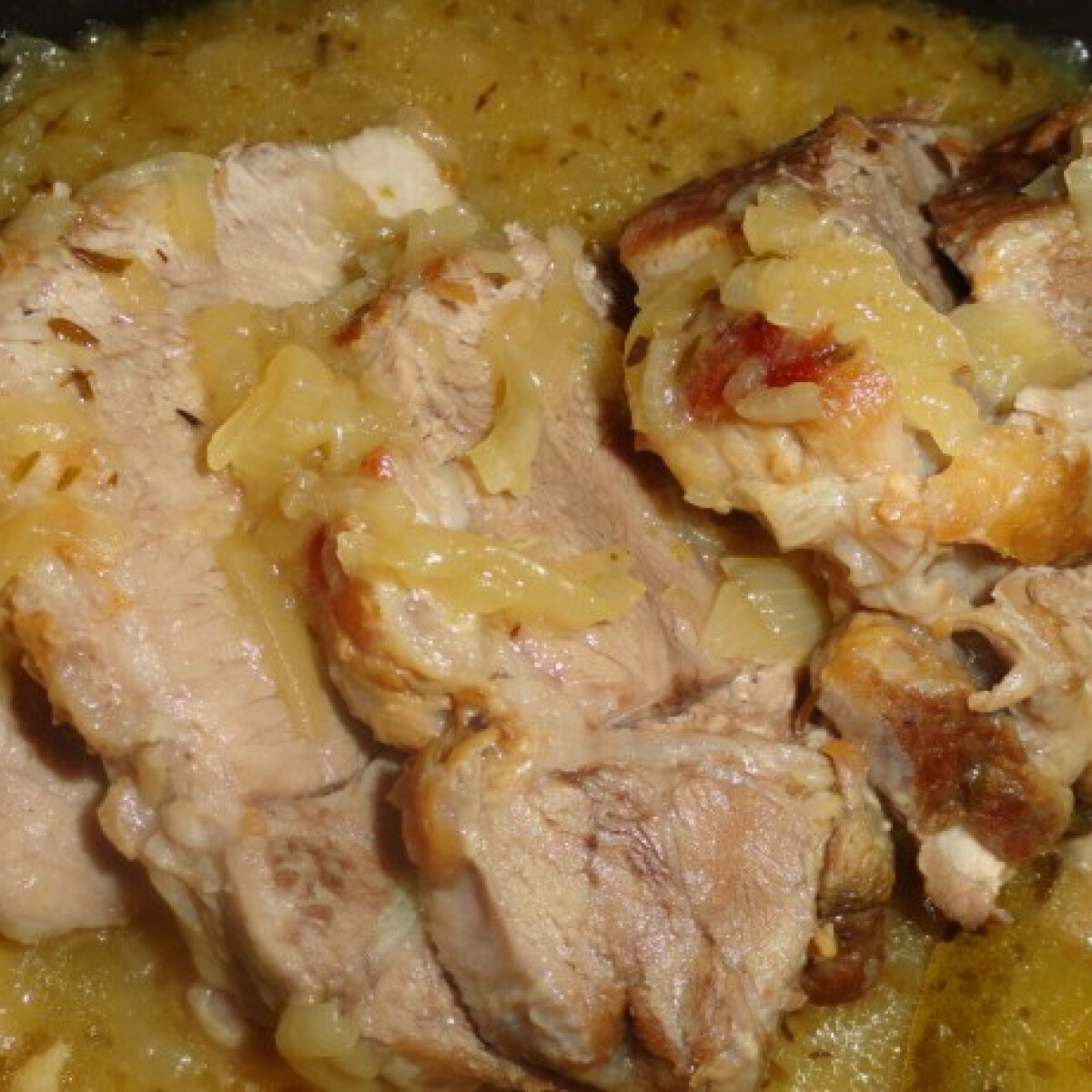 Ezen a képen: Citromos sertésszelet