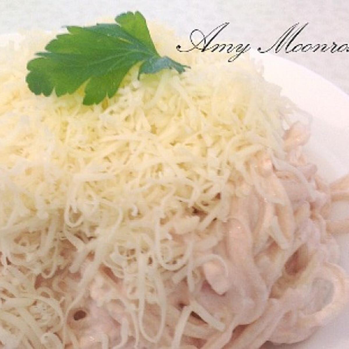 Ezen a képen: Olcsó hideg krémes spagetti