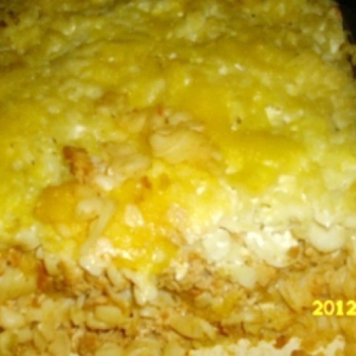Ezen a képen: Rakott tészta kinguci konyhájából