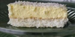 Kókuszos szelet