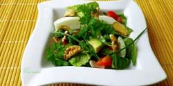 Tavaszi saláta Évi nénitől