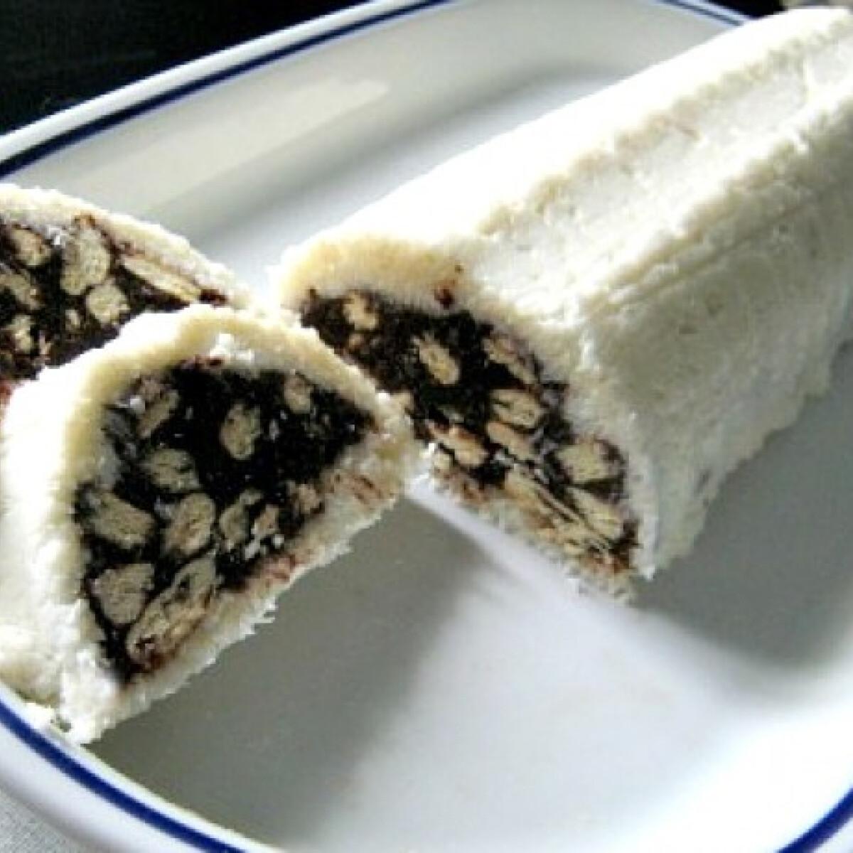 Kókuszba töltött keksz őzgerinc