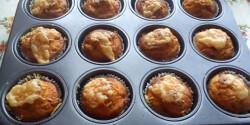 Pizzás-szalámis muffin