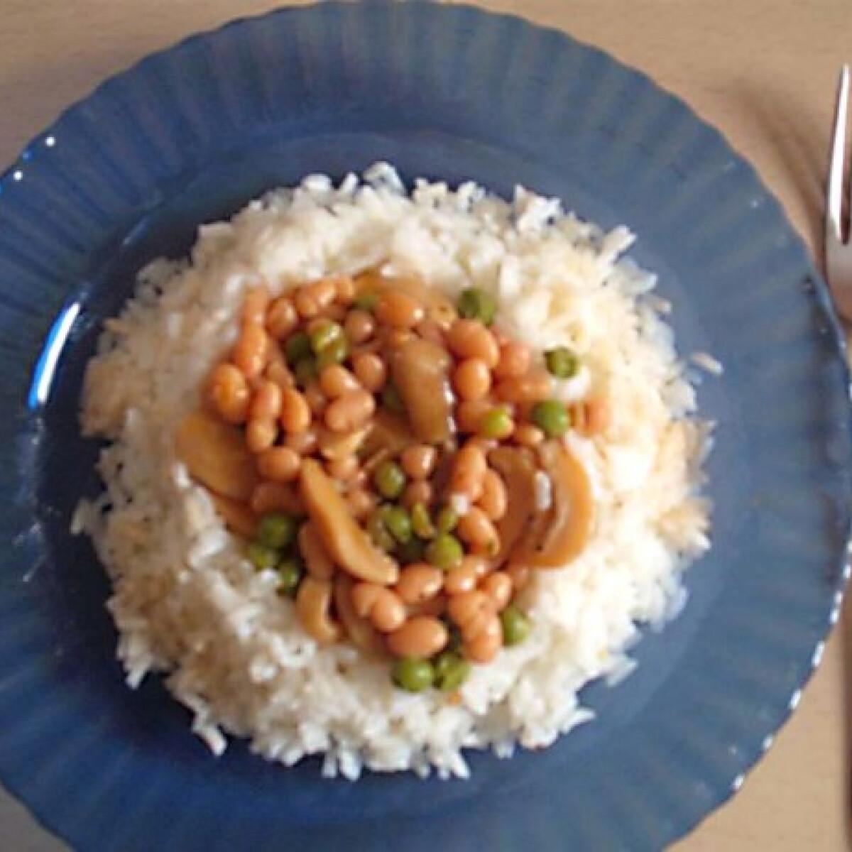 Zöldséges rizs Katca konyhájából