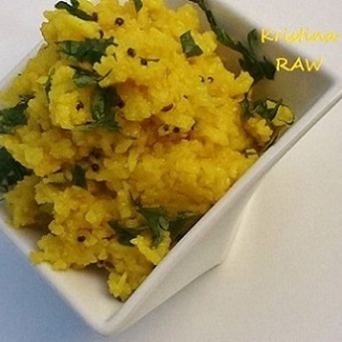 Ezen a képen: Citromos rizs Raw konyhájából