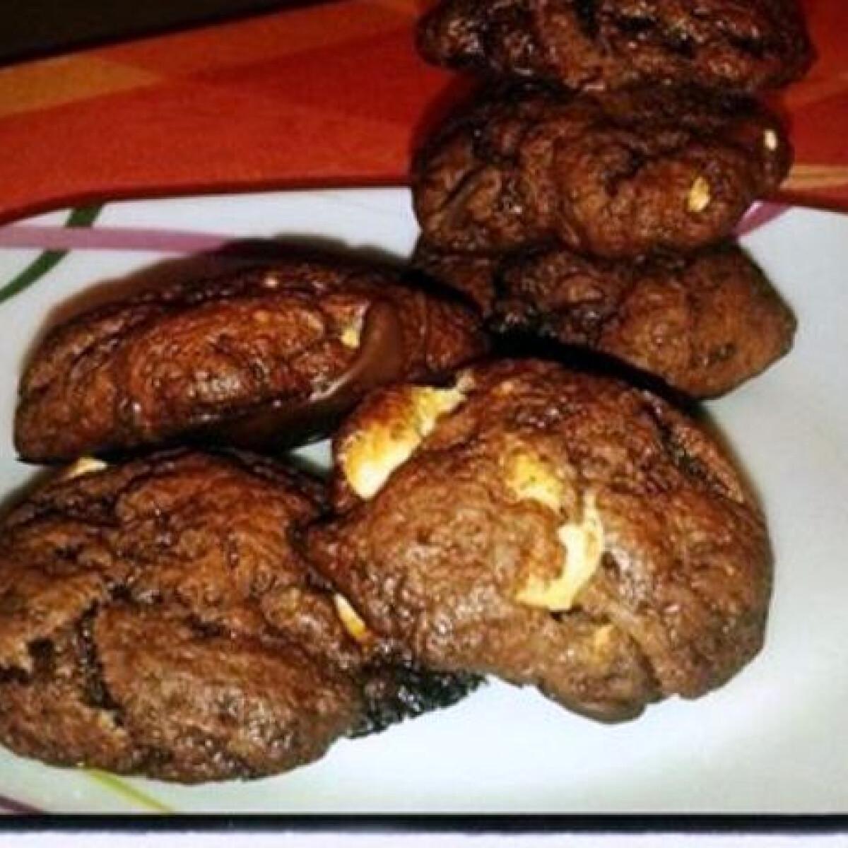Ezen a képen: Extra csokis keksz sandraa konyhájából