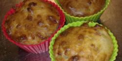 Hagymás-baconos muffin