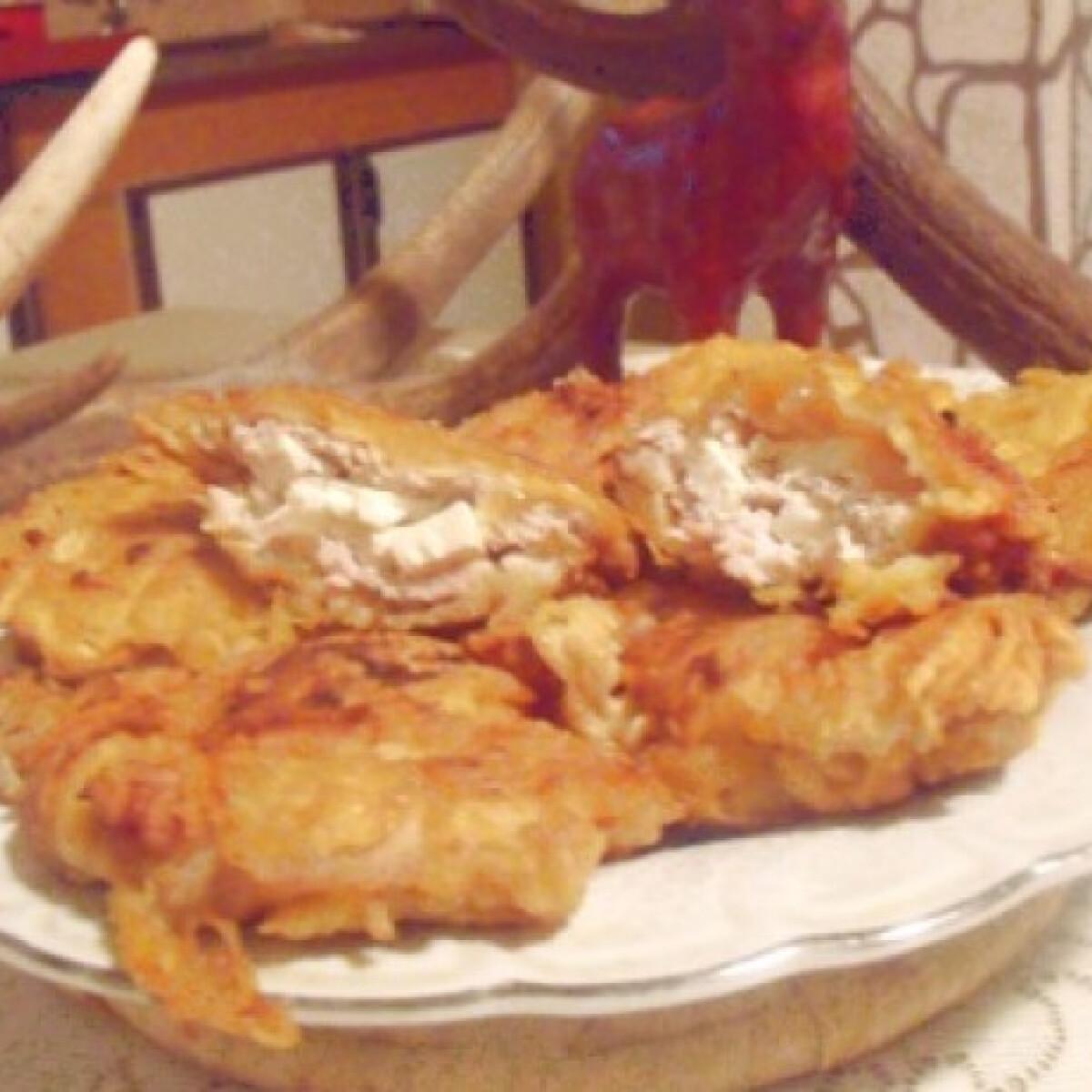 Ezen a képen: Macokban sült feta sajtos karaj