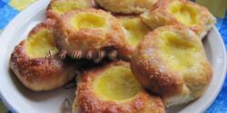 Vaníliás fánk - sütőben sütve