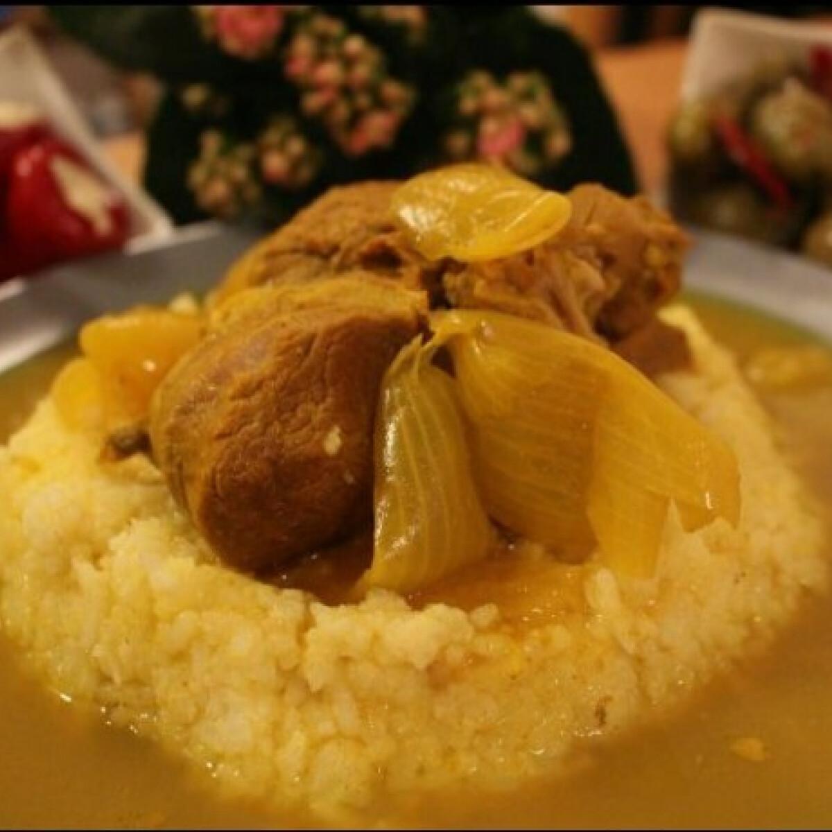 Ezen a képen: Perzsiai fűszerezésű báránycomb