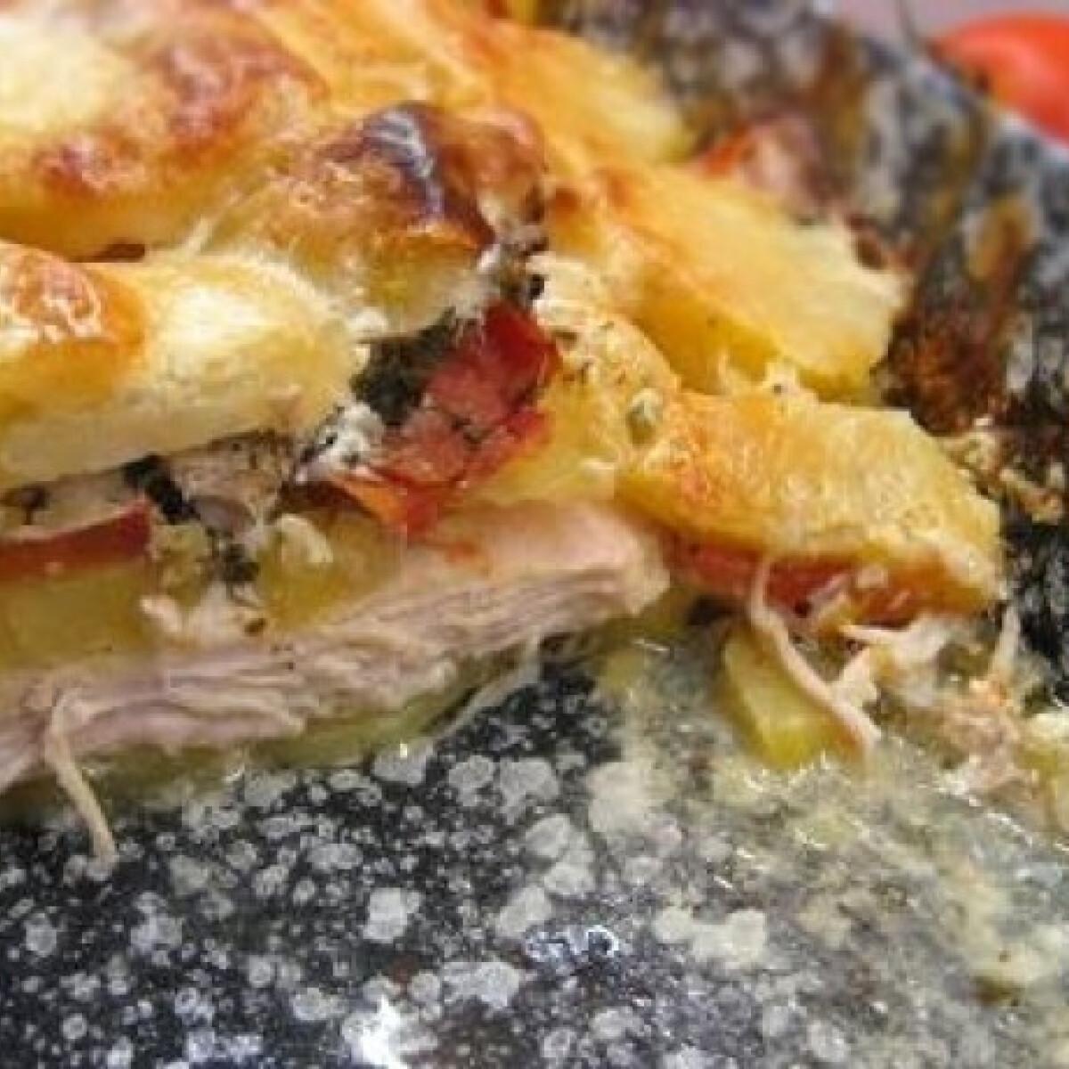 Ezen a képen: Belga rakott csirke