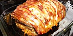 Fűszeres karaj öntöttvas edényben sütve