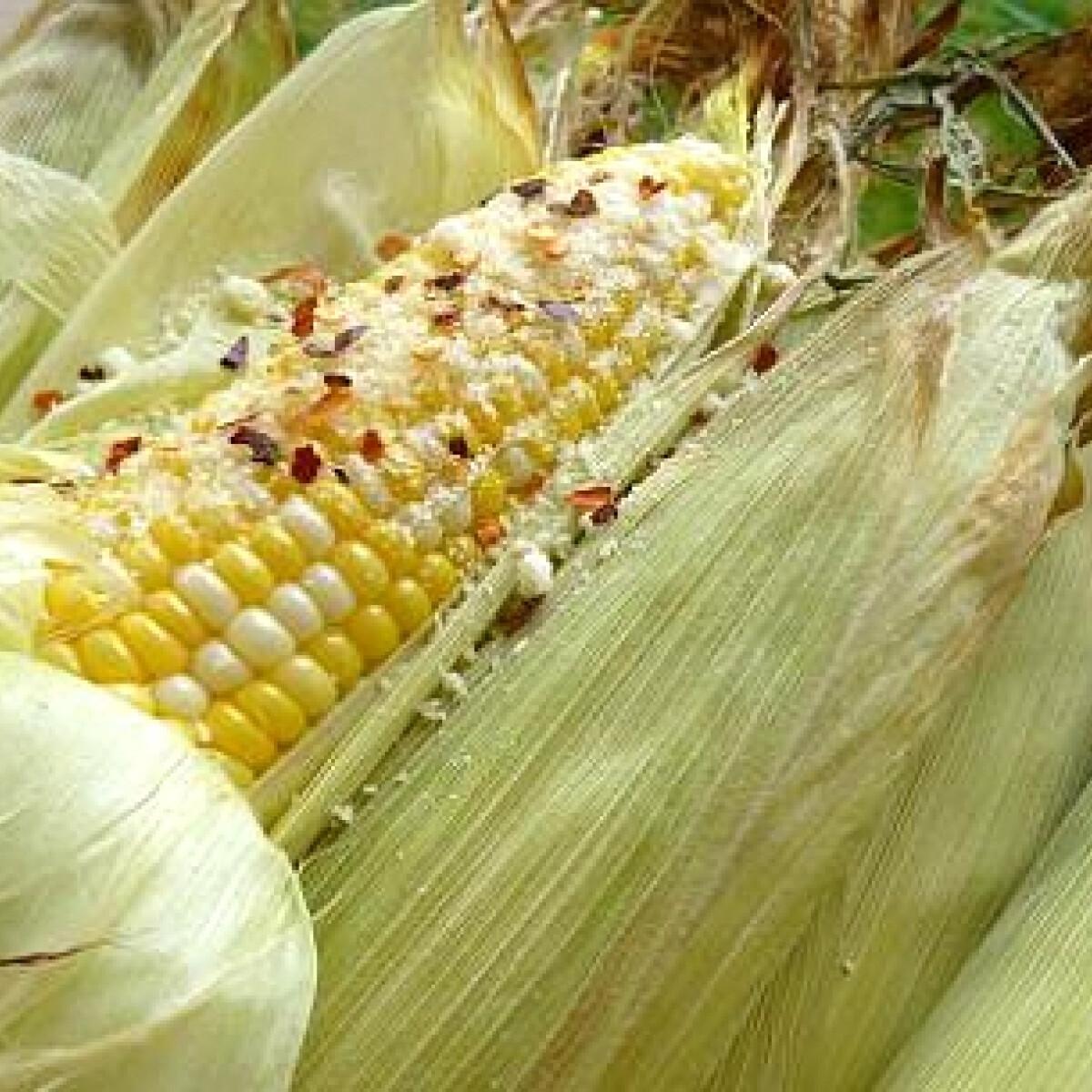 Ezen a képen: Sült kukorica