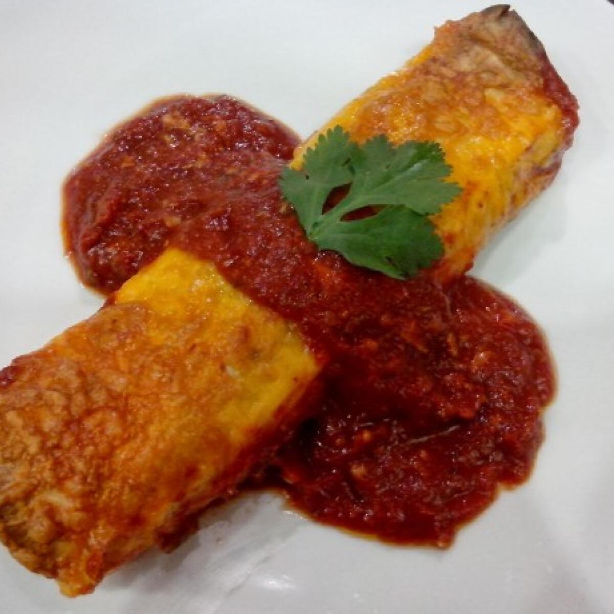 Ezen a képen: Enchiladas