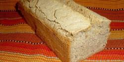 Gluténmentes magos kenyér