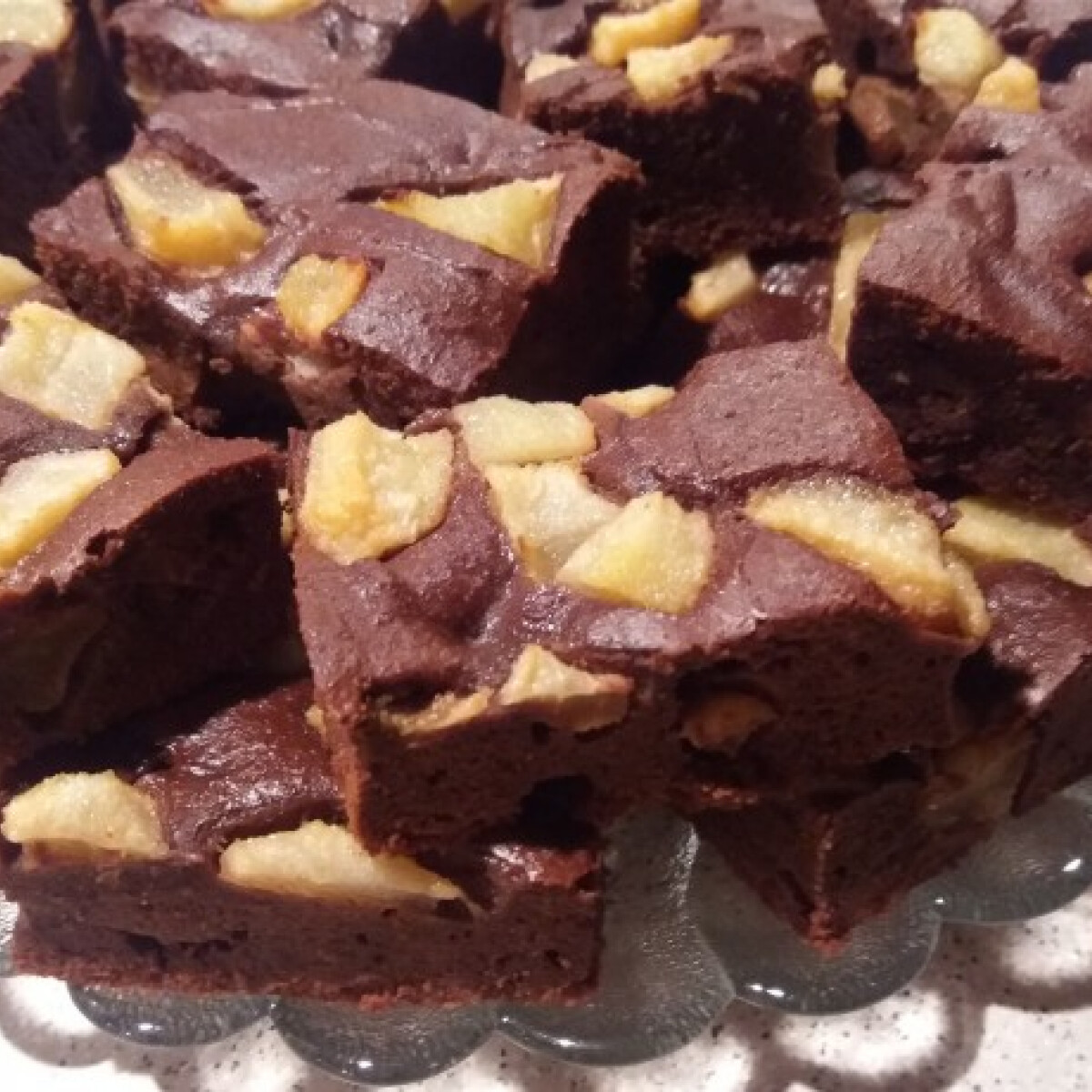 Paleo körtés brownie