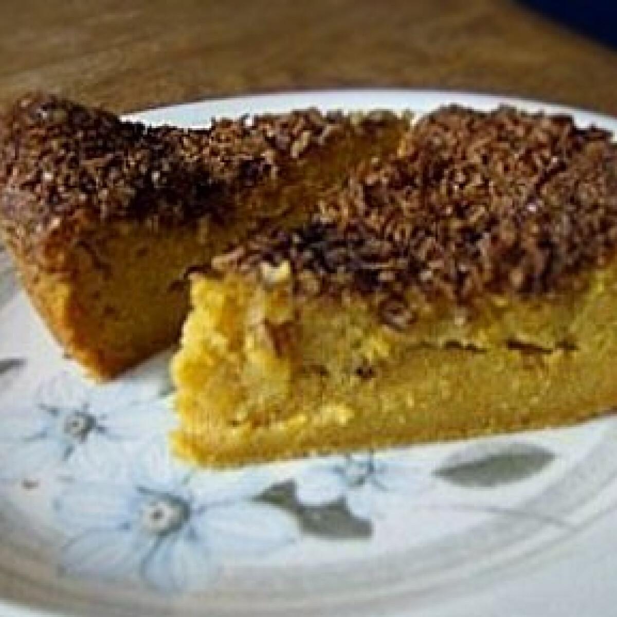 Ezen a képen: Édesburgonya torta 2. - jamaicai