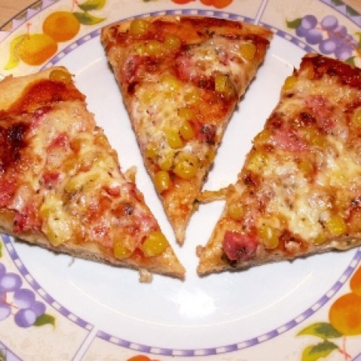 Ezen a képen: Gluténmentes pizzatészta tej és tojás nélkül
