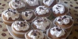 Krémes csokis muffin
