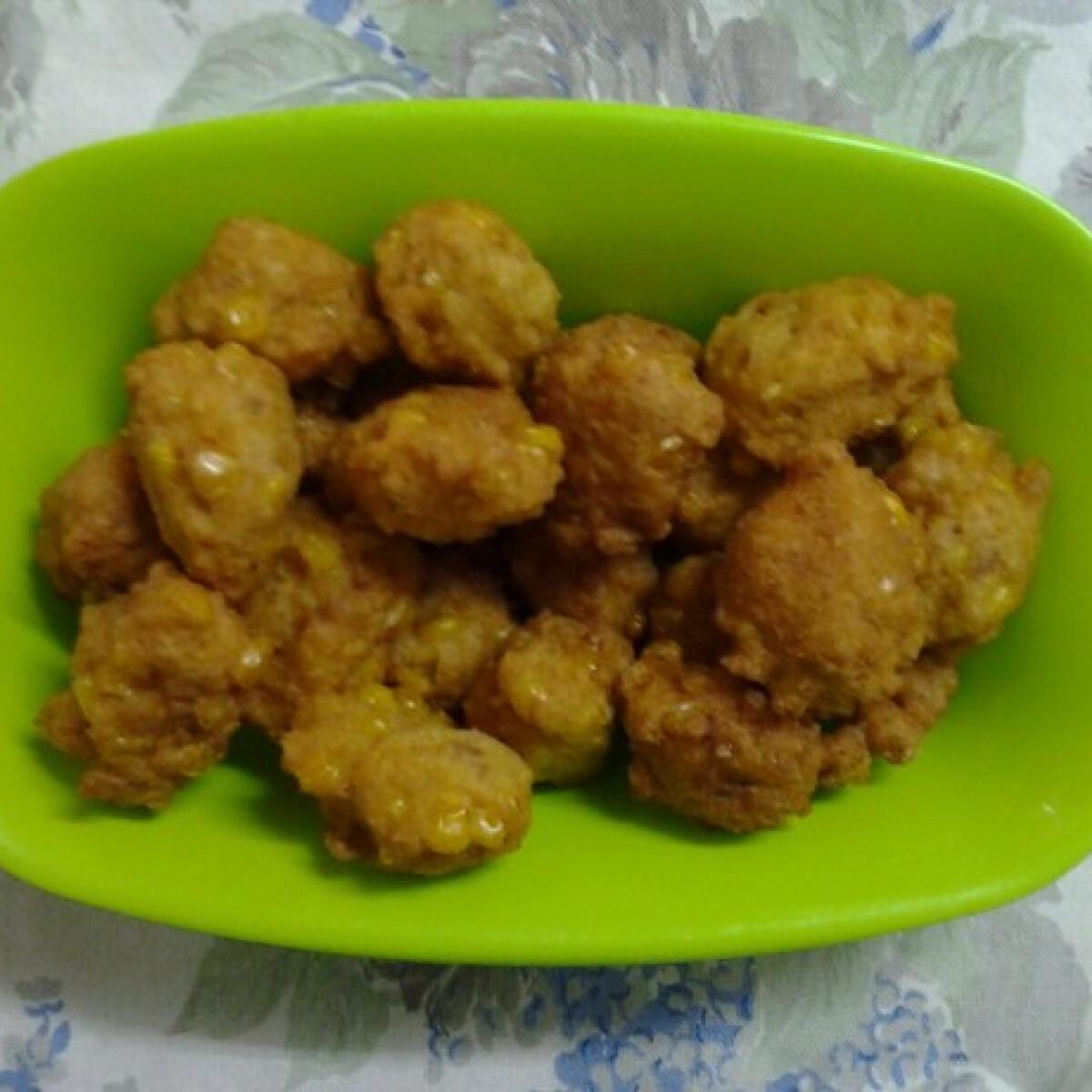 Ezen a képen: Kukoricás puffancs Angie konyhájából