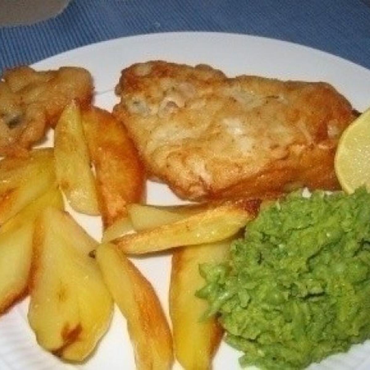 Ezen a képen: Fish and chips