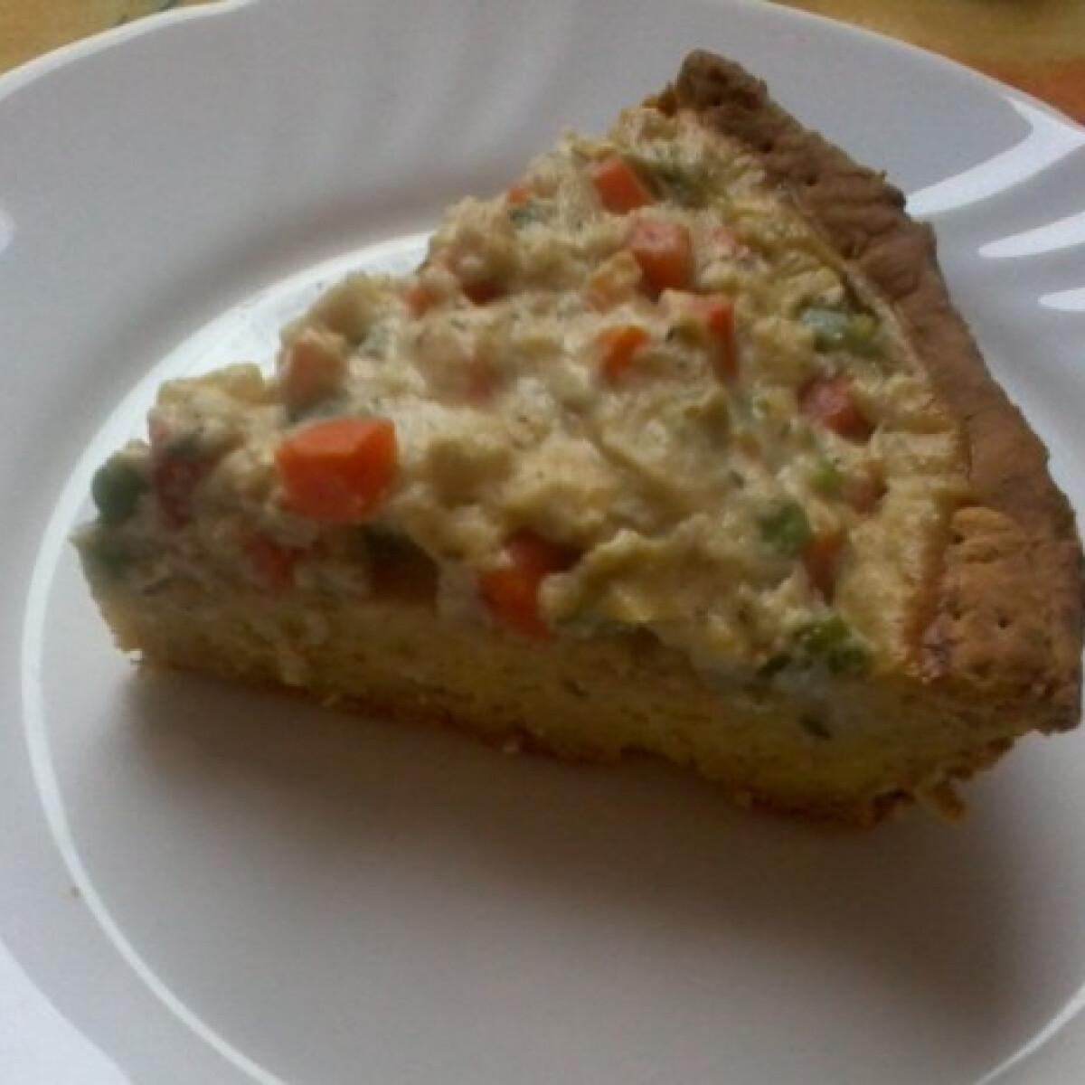 Zöldséges pite Edit konyhájából