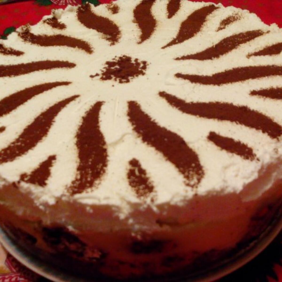 Ezen a képen: Mákosguba-torta Katrintól