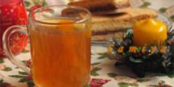 Almás teapuncs alkoholmentesen
