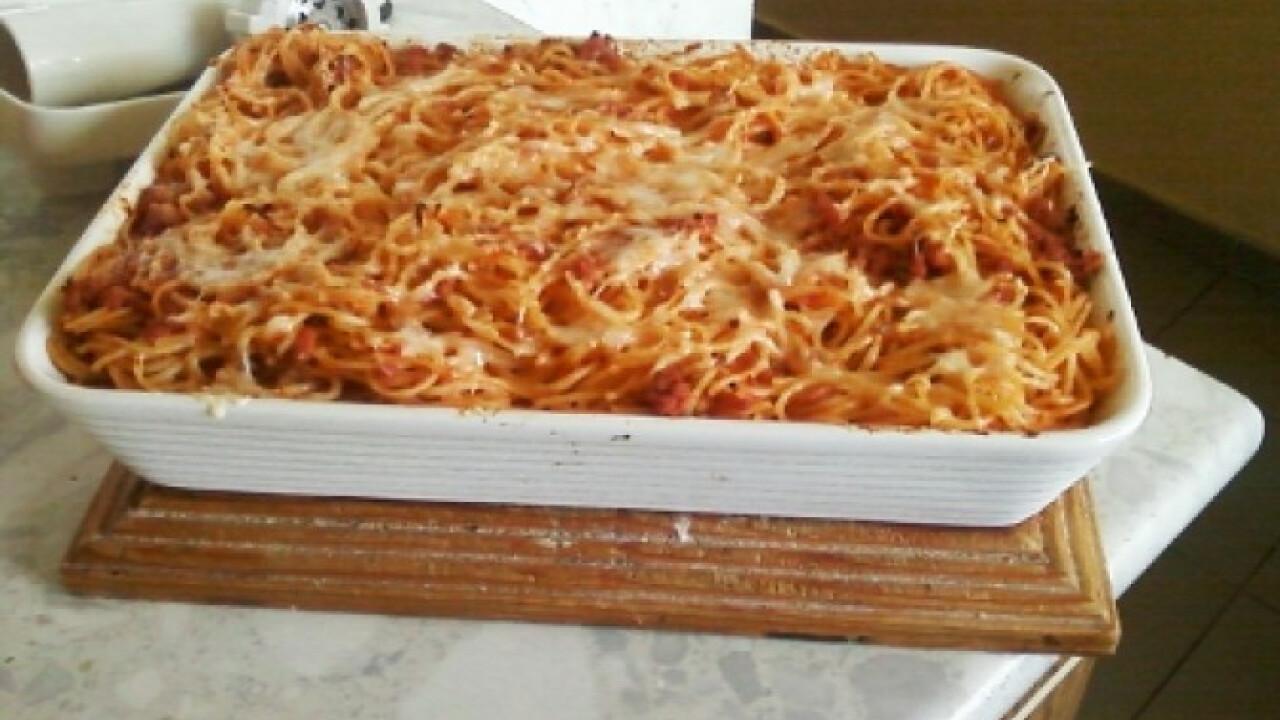 Milánói spagetti ahogy Anyanyul készíti