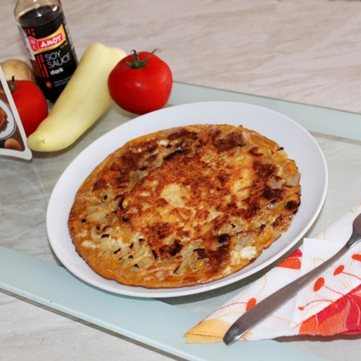 Ezen a képen: Jávai omlett Iluskától