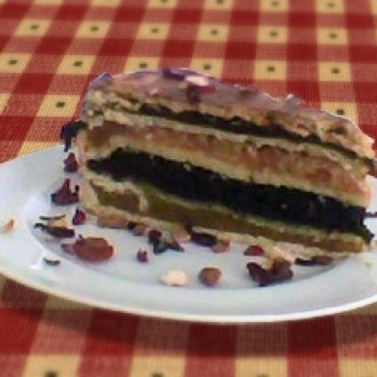Ezen a képen: Flódni torta