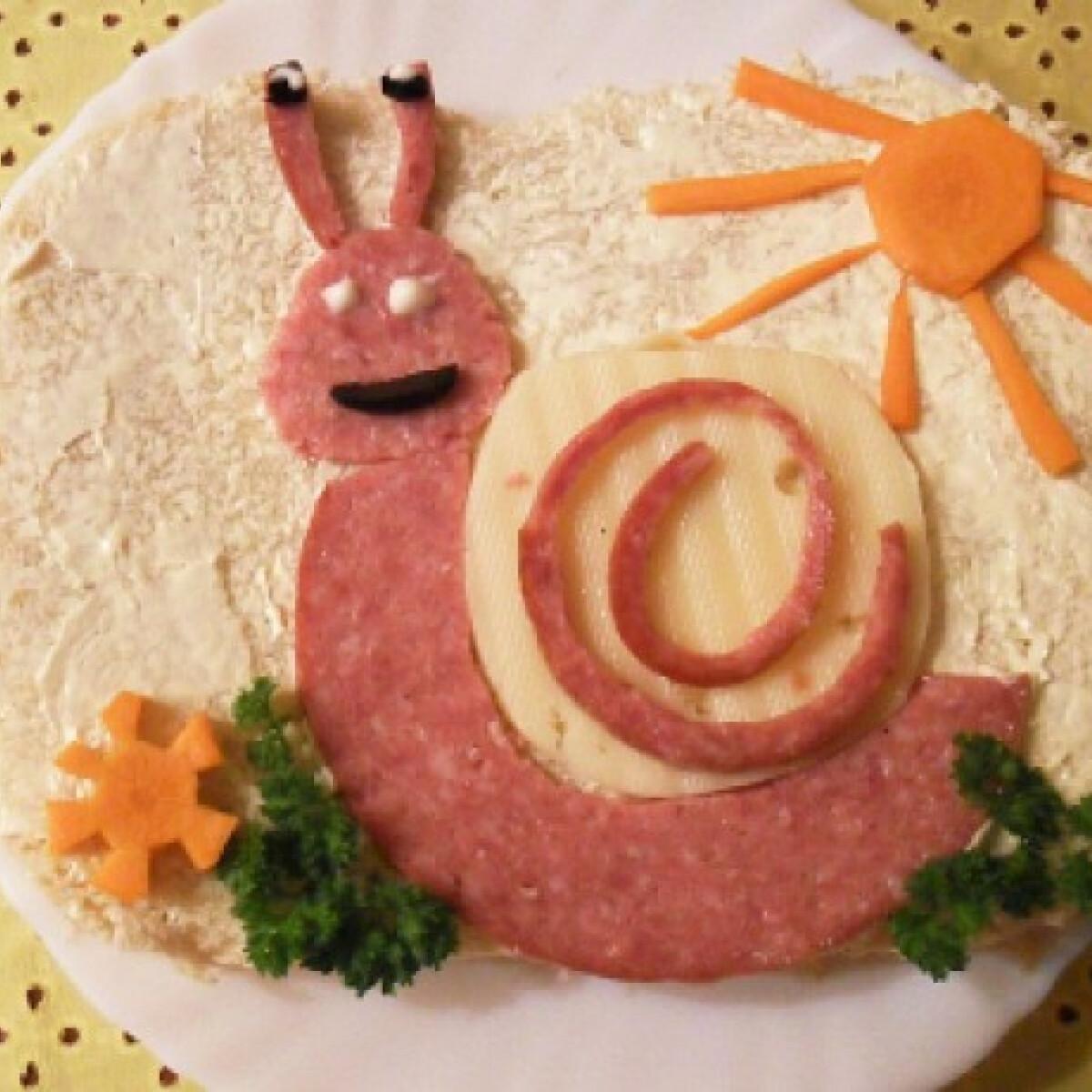 Ezen a képen: Vidám szendvics Salamon Csilla konyhájából