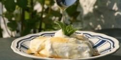 Házi készítésű görög joghurt kakukkfűmézzel
