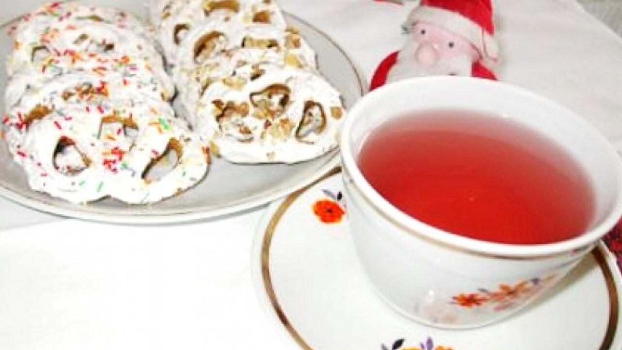 Fahéjas-mézes perecek teázáshoz
