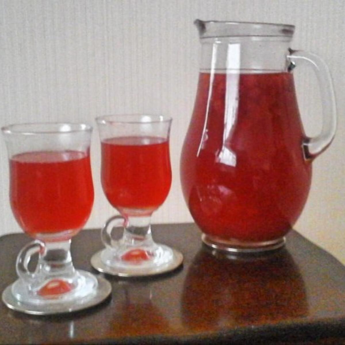 Ezen a képen: Tőzegáfonya-tea