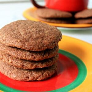 Csokis-kókuszos keksz