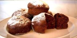 Kakaós muffin - szabad töltés