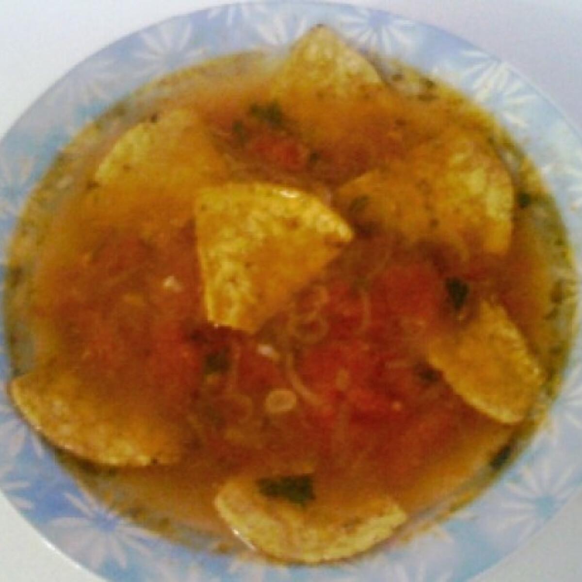 Mexikói hagymaleves