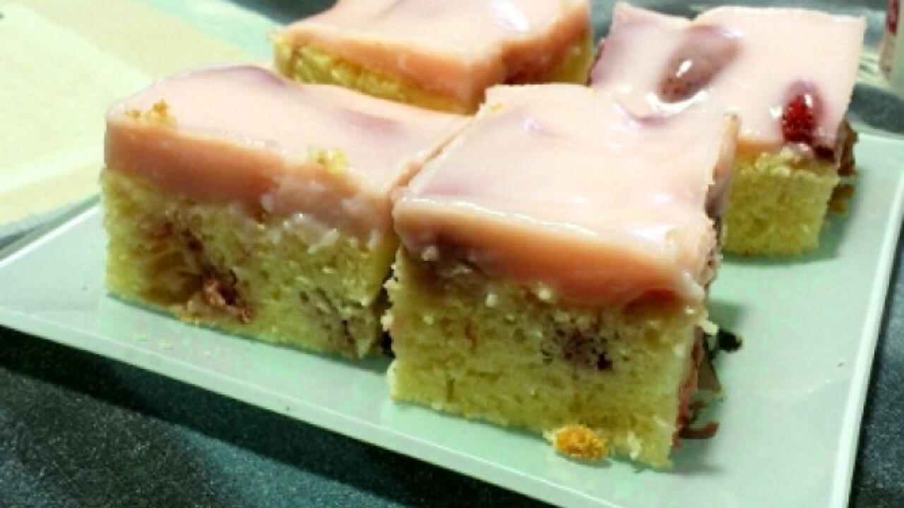 Puncspudingos-epres süti
