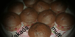 Olcsó, pihe-puha kakaós muffin