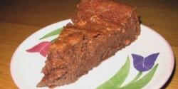 Gesztenyés-csokoládés trüffeltorta