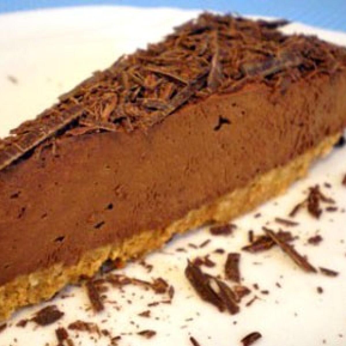 Ezen a képen: Csokimousse torta 2.