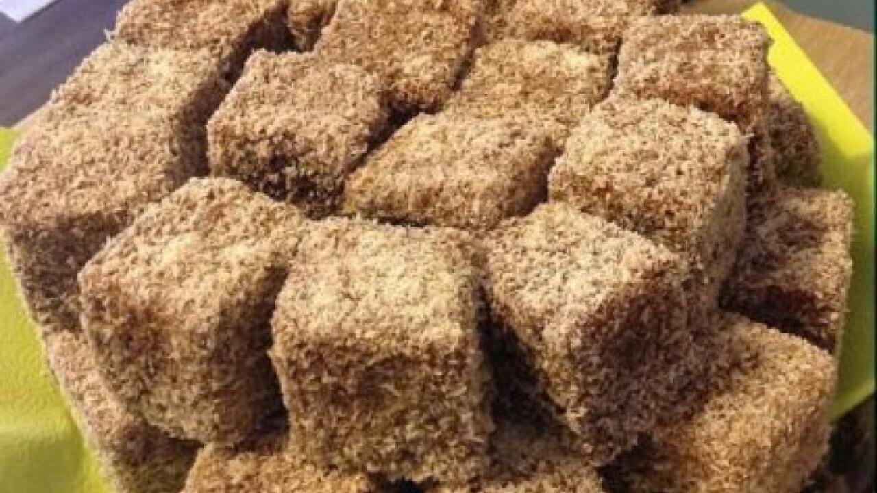 Mézes kókuszkocka Usika konyhájából