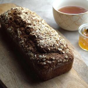 Rusztikus ír barna kenyér