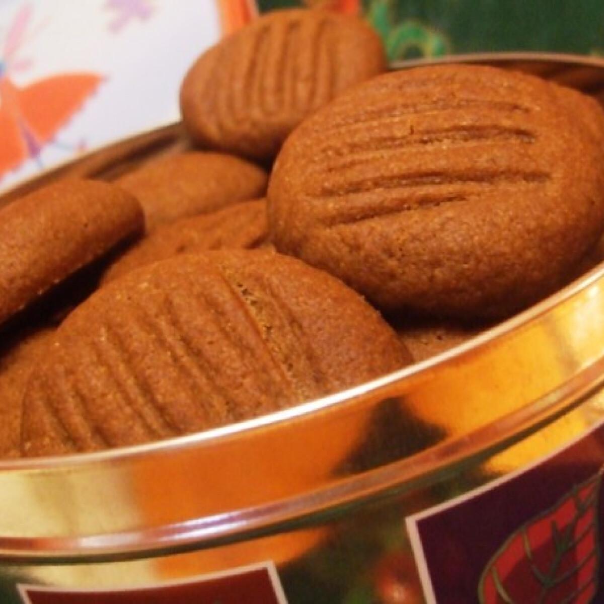Ezen a képen: Kakaós vajas keksz