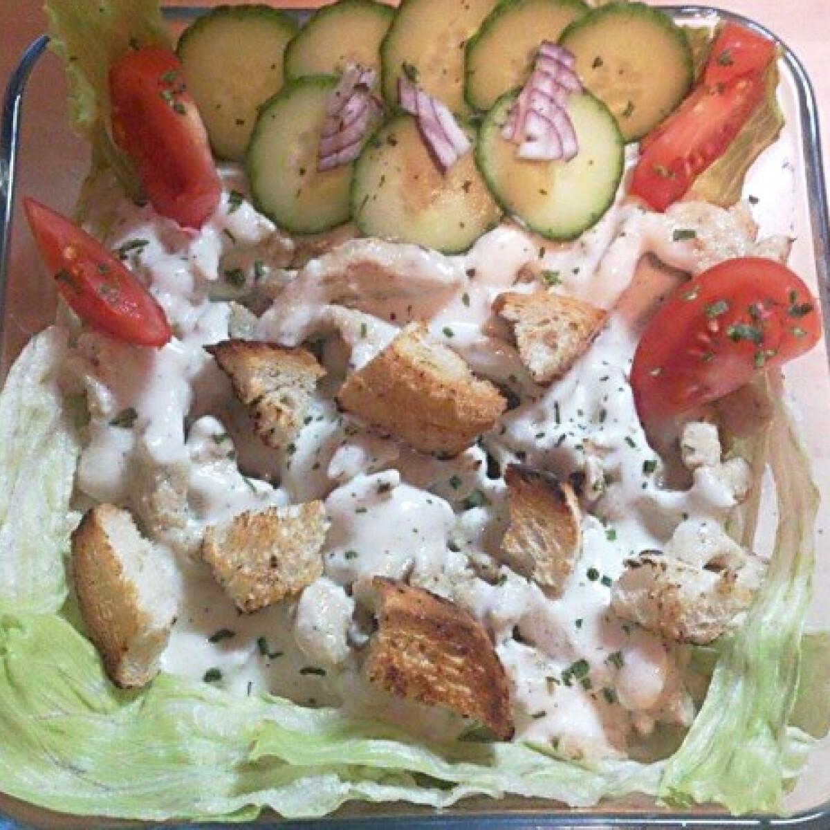 Ezen a képen: Cézár saláta Nikuszbabytől