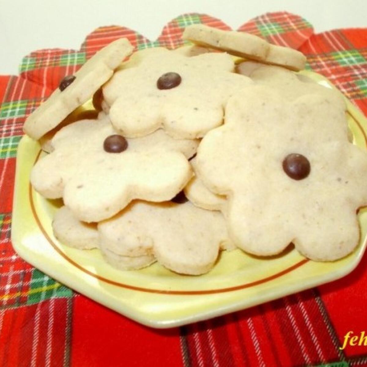 Ezen a képen: Rumos-diós keksz